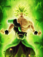 Broly, The Legendary Super Saiyan by zachjacobs