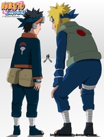 We will become Hokage, Obito 637 - Lineart Colored by DennisStelly