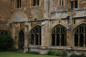 Lacock Abbey 02 by Skitsofrenika-Stock
