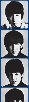 A Hard Day's Night Beatles Bookmark by galapogosian