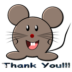 Thank You Mouse by LA-StockEmotes