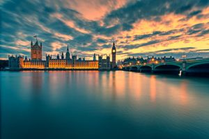 Houses of Parliament, London by Stefan-Becker