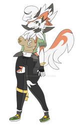 Hiwalani- Twilight Lycanroc by Mitch-Kun