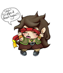 Altair Tarazawa (chibi) - Request for AltairSky by fjordsare
