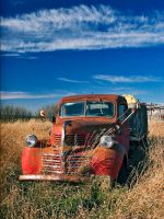 Red Truck Blues by WayneBenedet