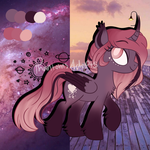 Alicorn Aesthetic Adopt Auction (CLOSED) by PhantomsAdopts