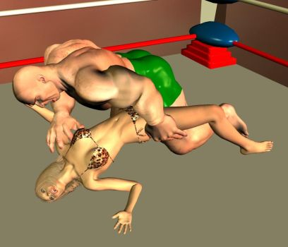 mixed Wrestling 5 by cattle6