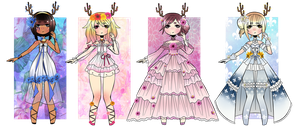#25 ADOPTABLES [CLOSED] ::Flowers:: by Star-Kaito