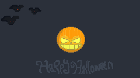 Happy Halloween everyone!! (I know it's 23.9 but) by DomsPixels