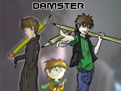 new id with characters by Damster