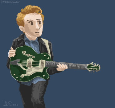 Guitar Green by katribou