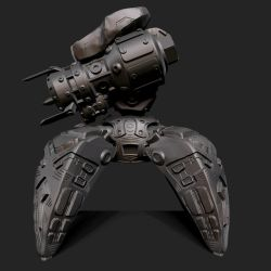 Quadroped Robot Side View by XShadowScaleX