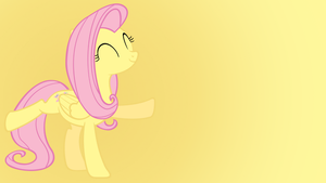 Fluttershy Wallpaper by Shelmo69