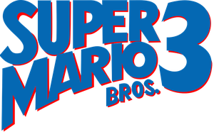 Super Mario Bros. 3 logo by RingoStarr39