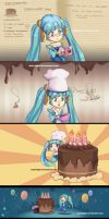 The cake is a lie sona by HolyElfGirl