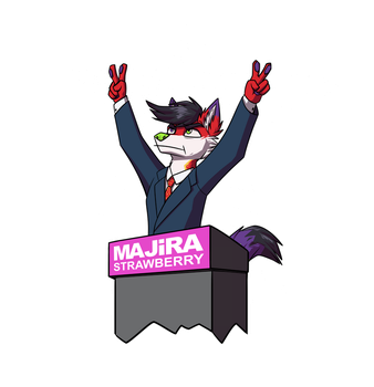 Majira For President by artwork-tee