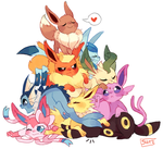 THE EEVEELUTION PROBLEM by suikuzu