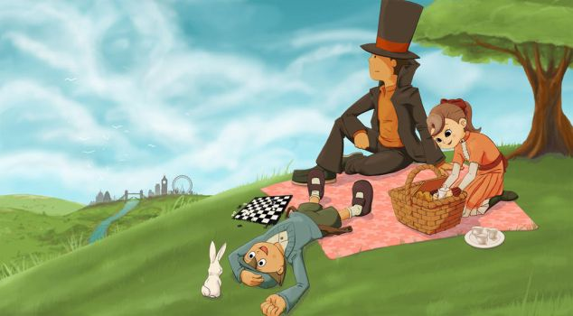 Lovely day for a picnic by Shalie