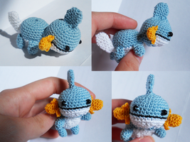 Mini Mudkip by TheSmall-Stuff