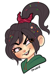 Vanellope by ThemisDolorous