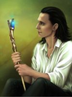 Loki_What do you want, mortal? by Ariata