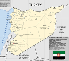 The Confederal Republic of Syria by KitFisto1997