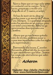 Pag 6 Carta Bienvenida de Aqueron Parthenopaeus by Dark-Hunter-Spain