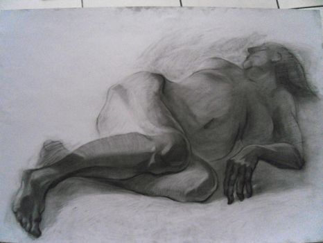 Study in charcoal by ignilibrium