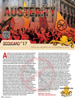 Occucard: About Austerity (Exposed) by Spat500