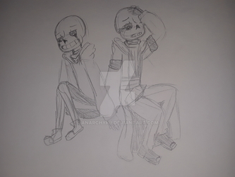Classic and Undertell Sans (traditional) by AnarchyKJ