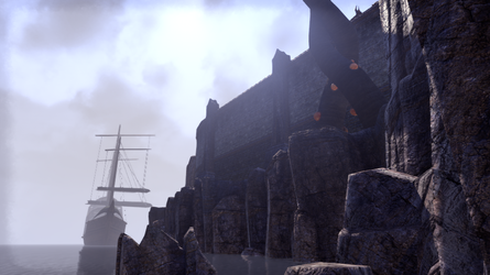 ESO Ship and City Wall by Kohlheppj13