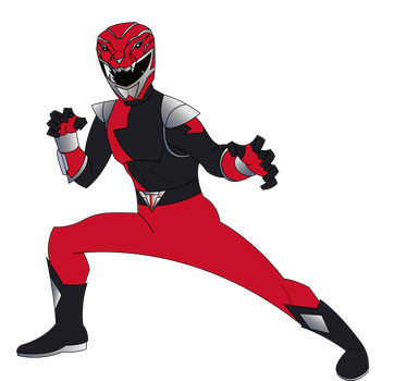 HyperForce Red Ranger by RiderB0y