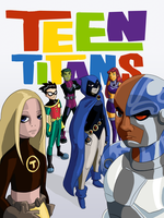 Teen Titans by StarfishnStopwatches