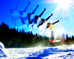 Snowboard Collage by infinitestudios