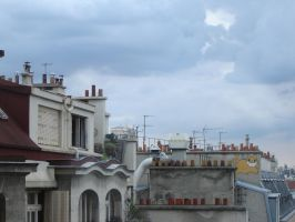 Sky and roofs by Zazou8