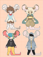 Mice [Adopts] CLOSED by Maramone
