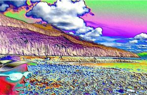 Psychedelic Pete+Lake Kachess by infin8yquest
