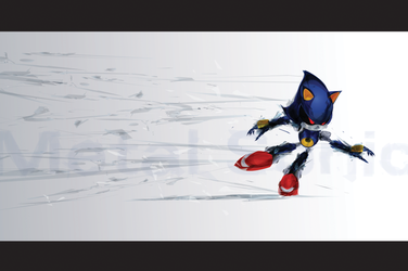 Metal Sonic by justincurrie