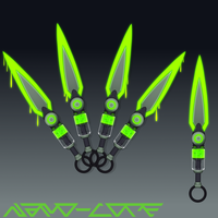 Syringe Kunai Auction Adopt (closed) by Nano-Core