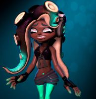 Splatoon 2] Marina by Kameron-Haru
