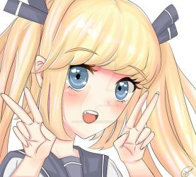 Tokyo-Dollie - Peace sign by Tokyo-Dollie