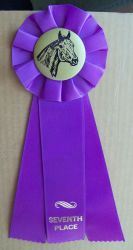 Horse Show Ribbon 7th. Stock by Lovely-DreamCatcher