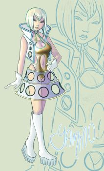 Charlotte in Space by Yamino