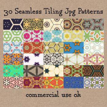 Patterns: January Set by HGGraphicDesigns