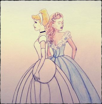 Cendrillon by mliddam