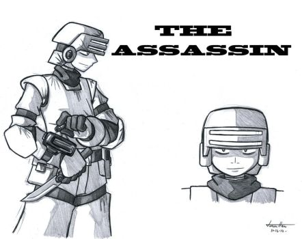 The Assassin by Gold-Paladin
