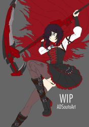 WIP - Summer Time Ruby, battle version by ADSouto