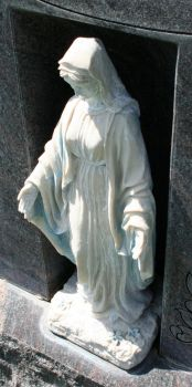 Mount Olivet Cemetery Mary 296 by Falln-Stock