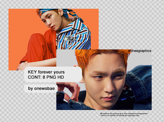 KEY forever yours pack png by SHINeeEditions
