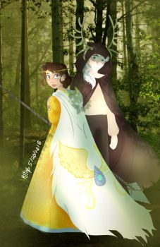 The Enchantress and the Forest King by KTMB17